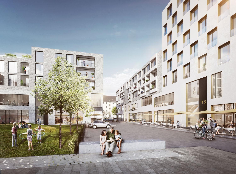 Neukonzeption rentzel center i hamburg lh architekten - Bgf architekten ...