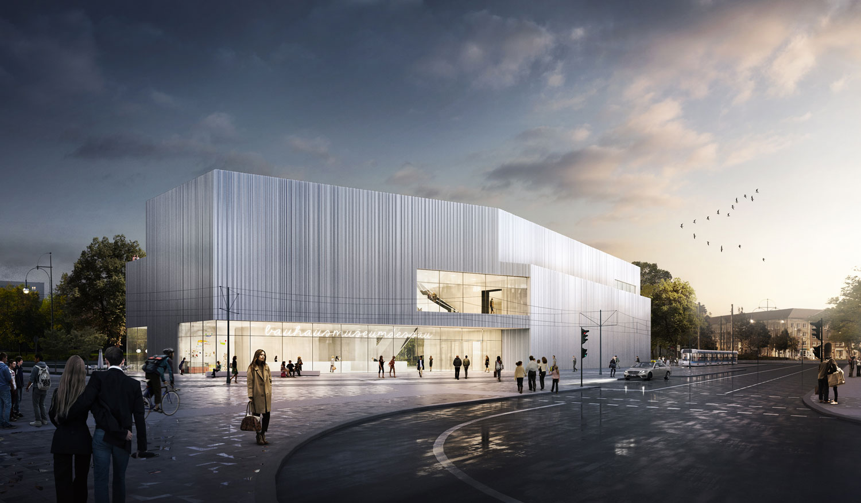 Bauhaus museum i dessau lh architekten - Bgf architekten ...